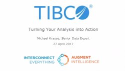 Demo: Monitorización de fraude en tiempo real con Streaming Analytics de Tibco