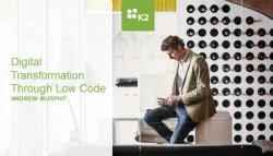 Introducción al BPM Low Code de K2
