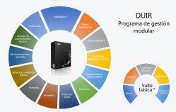 ERP y control de la producción personalizable con el ERP Duir