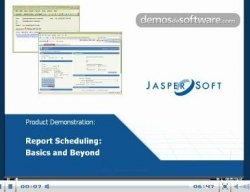 Funcionalidades de la solución Report Scheduling de Jaspersoft