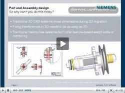 Siemens PLM, Solid Edge Syncronous Technology 2: cómo traspasar datos en 2D a 3D sin perder tiempo ni información