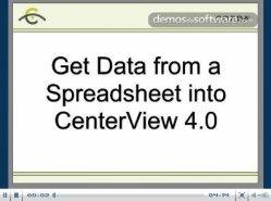 Cómo obtener datos de Spreadsheet dentro de CenterView 4.0