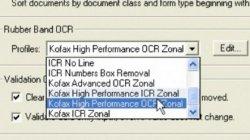 Kofax: Descripción de las funcionalidades de la herramienta Rubberband Quicktip que permite identificar datos con mayor agilidad
