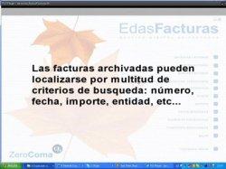Búsqueda de factura digitalizadas con EdasFacturas