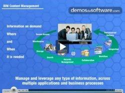 Descripción de las funcionalidades del IBM Content Management