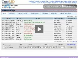 Cure MD: descripción de su sistema de gestión de clínicas y hospitales.