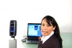 L-1 Identity Solutions muestra cómo funcionan sus soluciones  3-D de reconocimiento de rostro