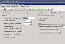 Configuración de Workflow en Microsoft Dynamics Axapta 2009. Ejemplo de configuración de