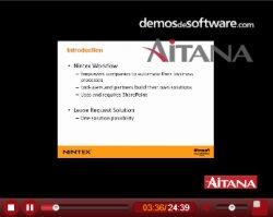 Aitana. Introducción a las características y funcionalidades de Nintex Workflow