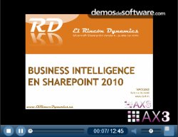 Sharepoint 2010 para el Business Intelligence. AX3 nos explica las