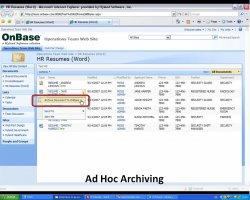 Integración de la gestión documental de OnBase con SharePoint