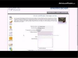 eNotificaciones: servicio online de notificaciones telemáticas certificadas a través de e-mail, fax y sms