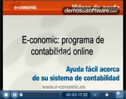 e-conomic, gestión contable para España pago mensual. Introducción y ejemplo de funcionamiento