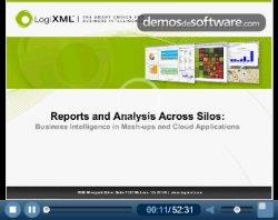 LogiXML: Reportes y Análisis a través de Silos, BI en Mashups y Aplicaciones Cloud
