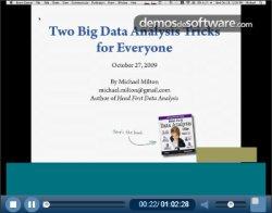 Cómo analizar datos, por Michael Milton, autor del libro