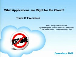 What Applications Are Right for the Cloud?
