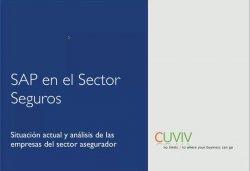 Sap Business Suite para Seguros. ¿Por qué conviene poner SAP for Insurance? Por Cuviv.