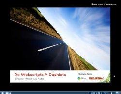 Cómo desarrollar Webscripts y Dashlets para Alfresco