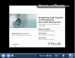 Proceso presupuestario colaborativo con Tagetik 3.0 y Microsoft SharePoint