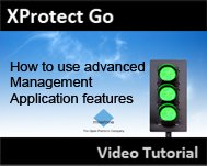 Milestone XProtect Go: Advanced configuration of the Management Appication