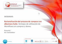 Oracle Advanced Procurement, la Gestión de compras de Oracle eBusiness Suite