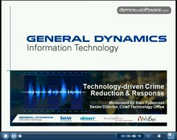 Crime Reduction and Response System (CRRS): sistema USA para la seguridad municipal. Webinar VidSys.