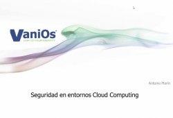 Seguridad en Cloud Computing. Lo que el directivo debe saber.