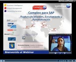 SAP: Distribución y Automatización de Reports, con Symtrax Compleo. Introducción y demo.