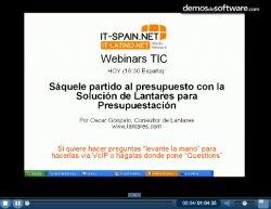 Sistema de Presupuestación de Lantares. Introducción y demo.