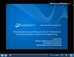 JasperReports Server Professional. Introducción y demo.
